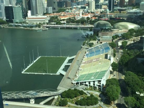 singapore bay floating stadium